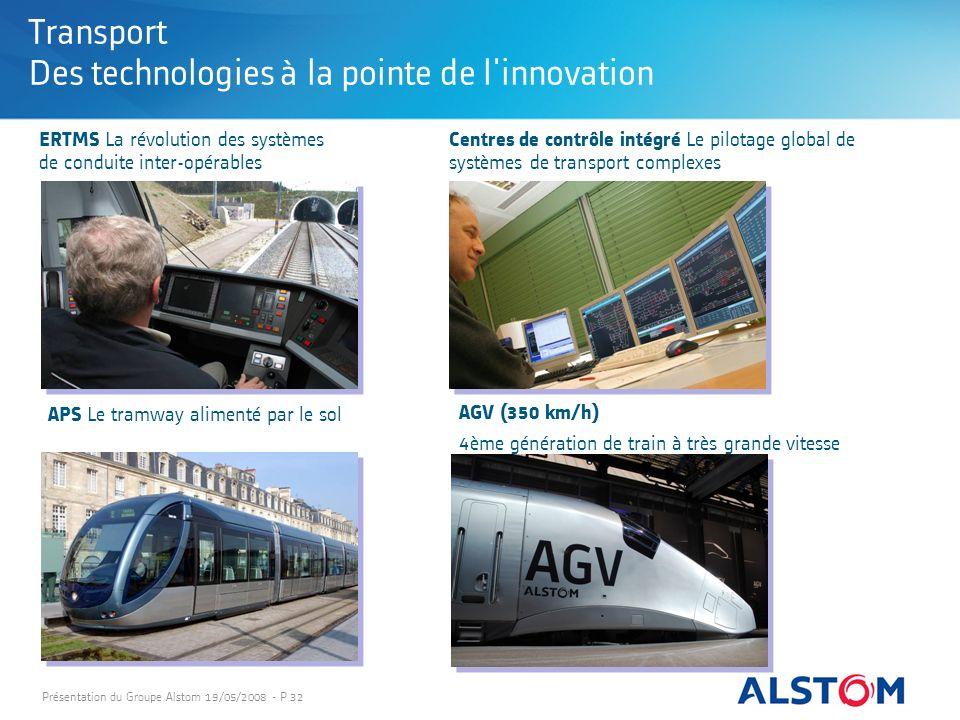 Transport Des technologies à la pointe de l innovation