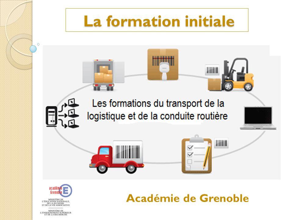 La formation initiale Académie de Grenoble