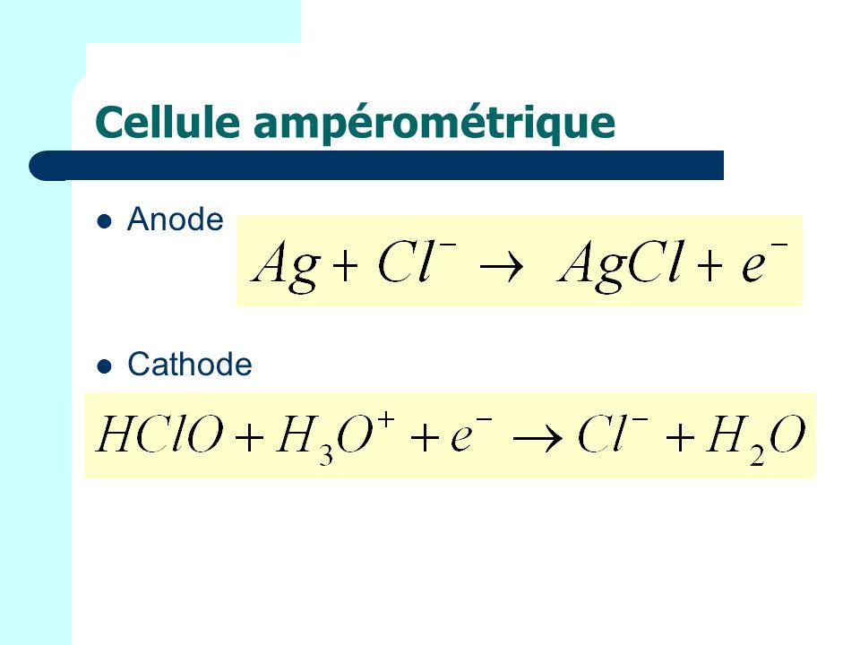 Cellule ampérométrique
