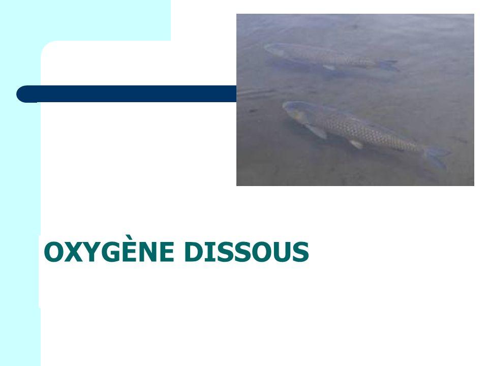 Oxygène dissous