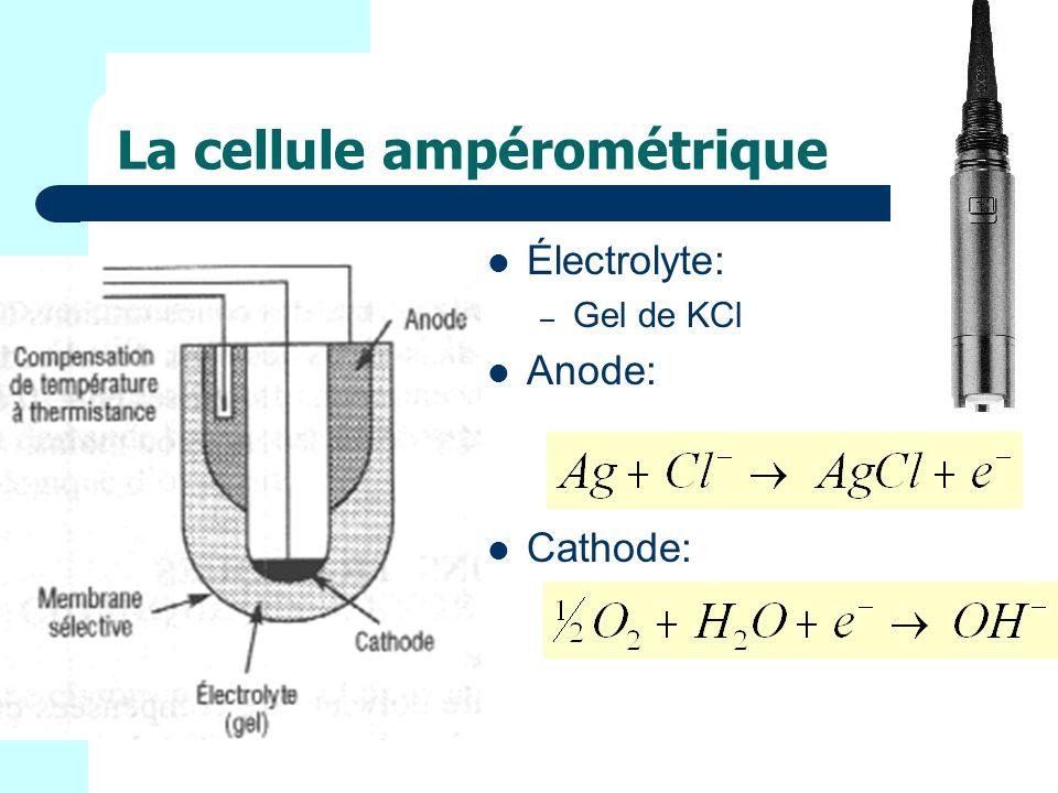 La cellule ampérométrique