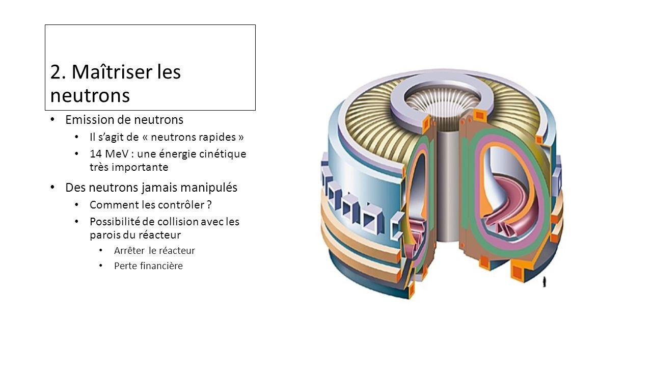 2. Maîtriser les neutrons