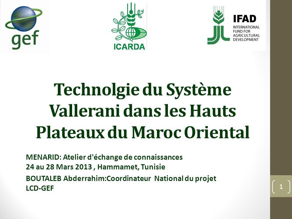 Technolgie du Système Vallerani dans les Hauts Plateaux du Maroc Oriental