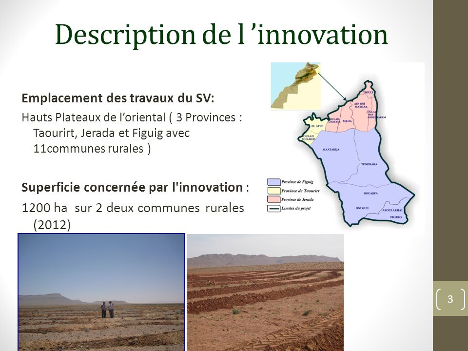 Description de l 'innovation