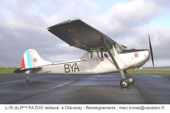 L-19 du 2ème PA ZOO restauré, à Chavenay - Renseignements : marc