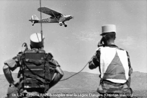 Un L-21 du 3ème PAZES coopère avec la Légion Etangère (Christian Malcros)