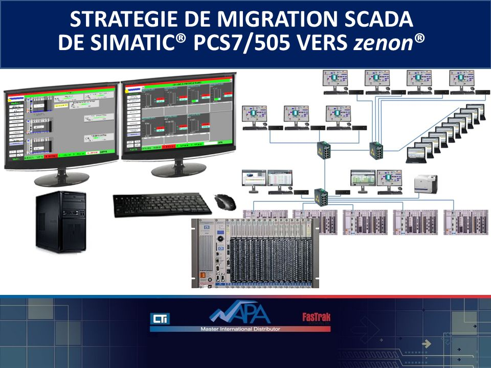 STRATEGIE DE MIGRATION SCADA DE SIMATIC® PCS7/505 VERS zenon® © 2013 - NAPA INTERNATIONAL FRANCE