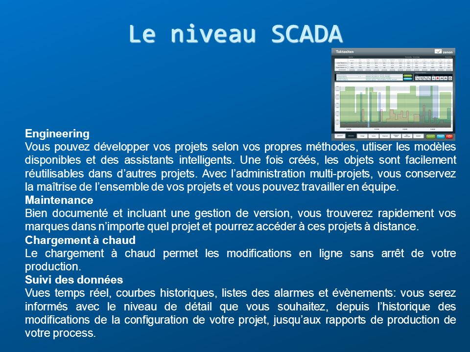 Le niveau SCADA Engineering