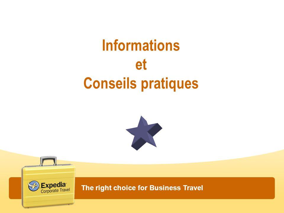 Informations et Conseils pratiques