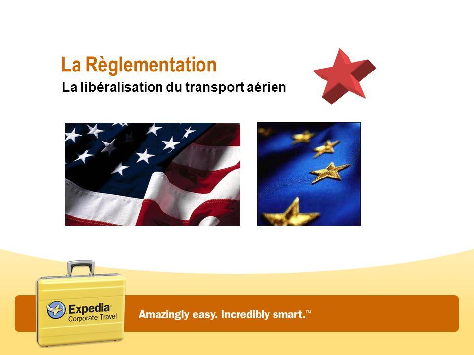 La Règlementation La libéralisation du transport aérien