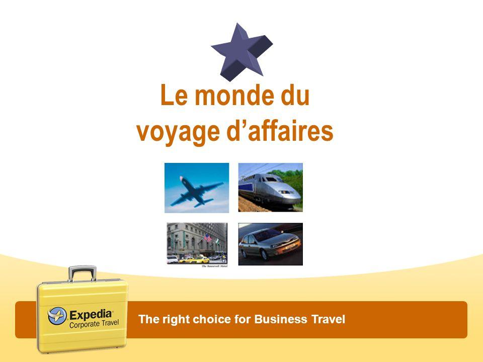 Le monde du voyage d'affaires