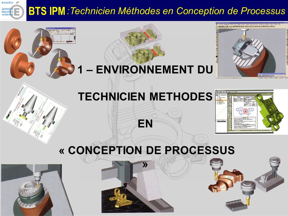 « CONCEPTION DE PROCESSUS »