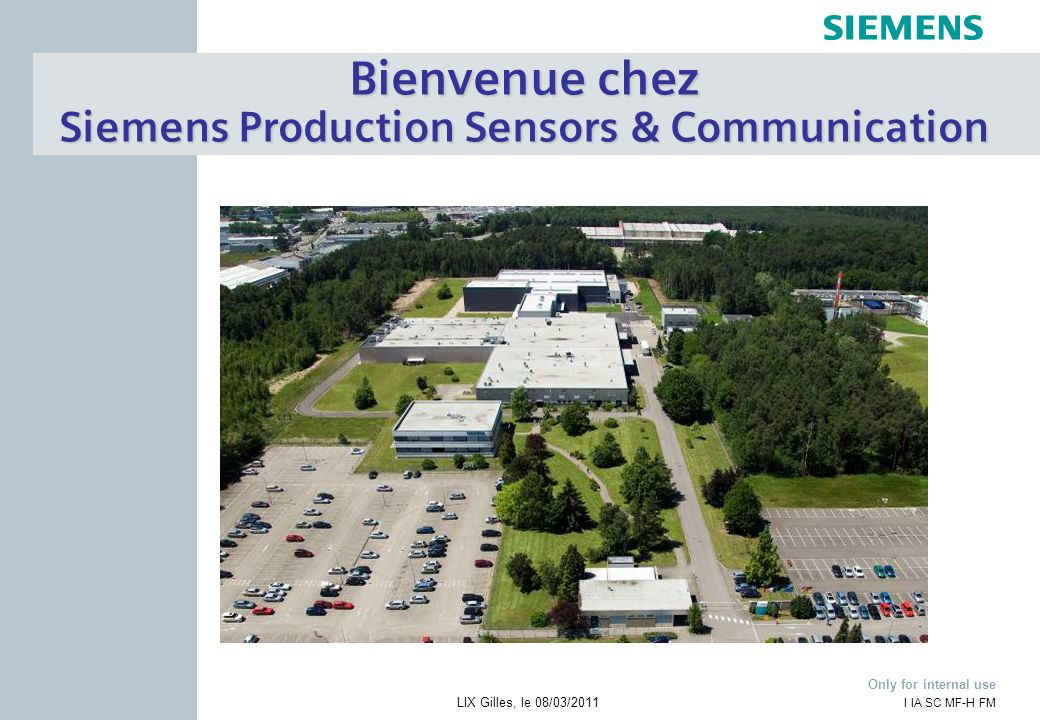 Siemens Production Sensors & Communication
