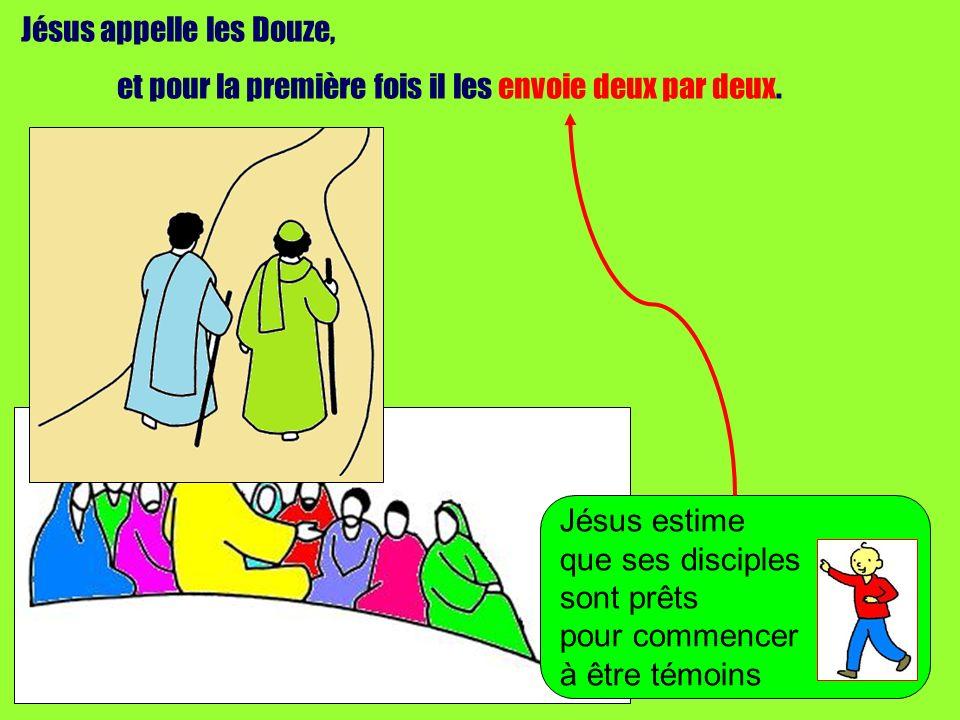 Jésus appelle les Douze,