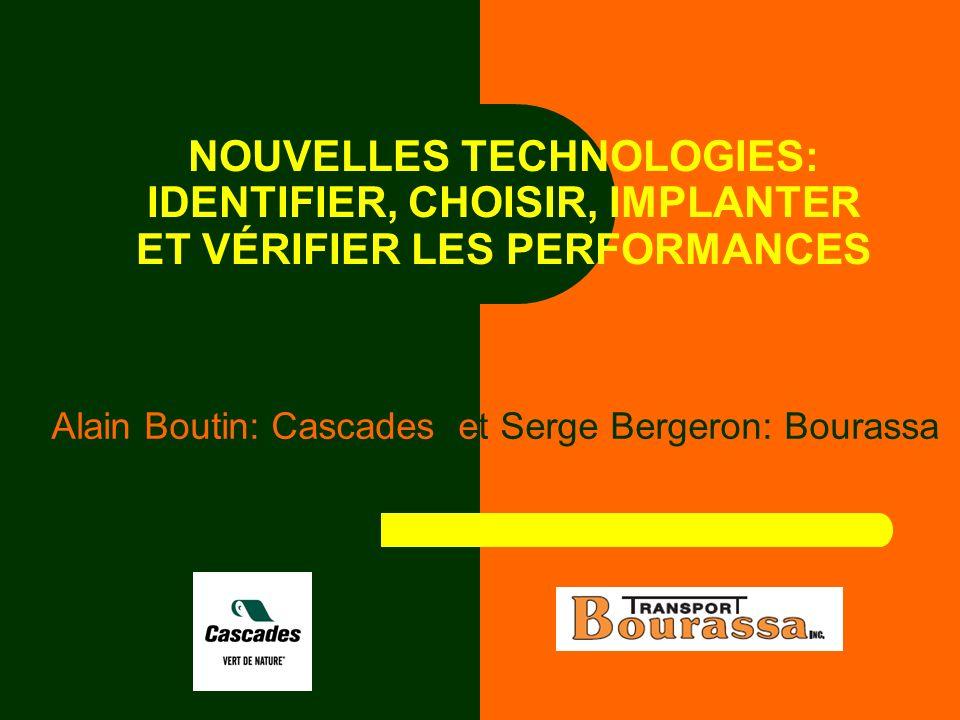 Alain Boutin: Cascades et Serge Bergeron: Bourassa