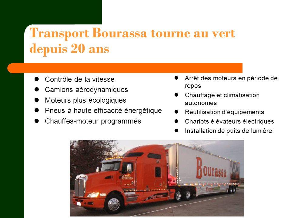 Transport Bourassa tourne au vert depuis 20 ans