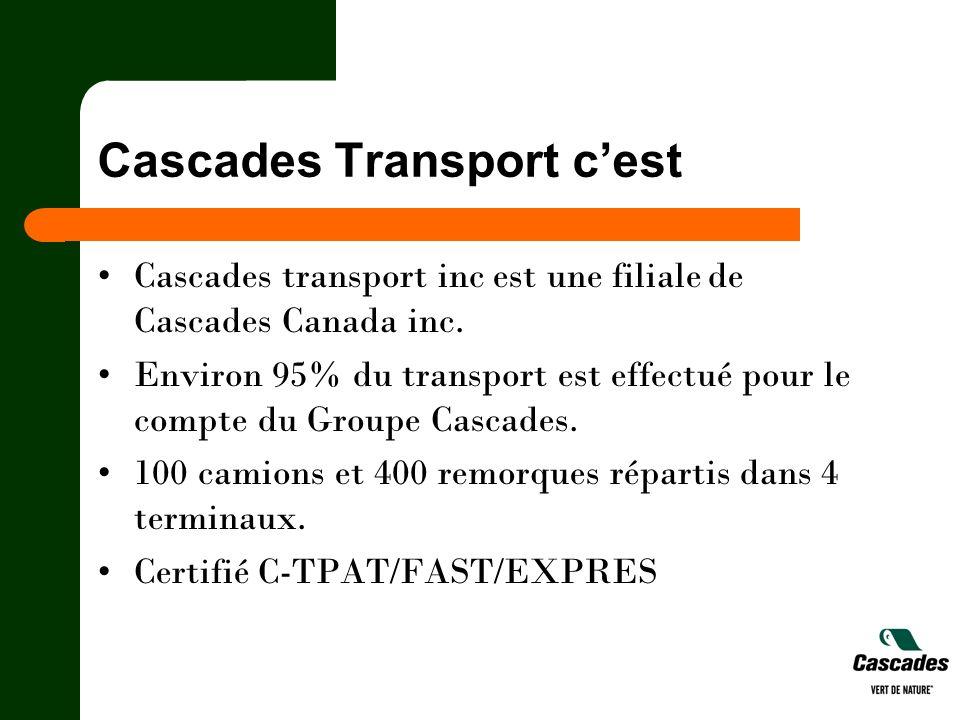 Cascades Transport c'est
