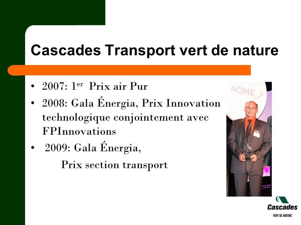 Cascades Transport vert de nature
