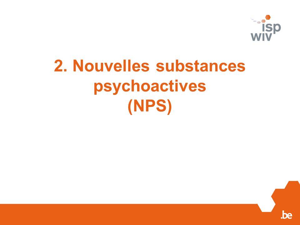 2. Nouvelles substances psychoactives (NPS)