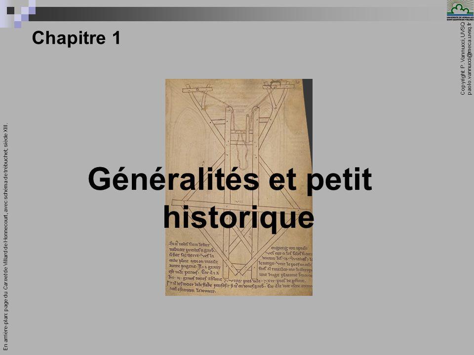 Généralités et petit historique
