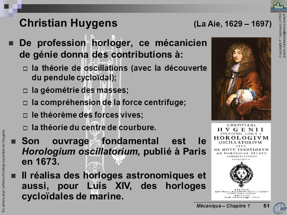 Christian Huygens (La Aie, 1629 – 1697)