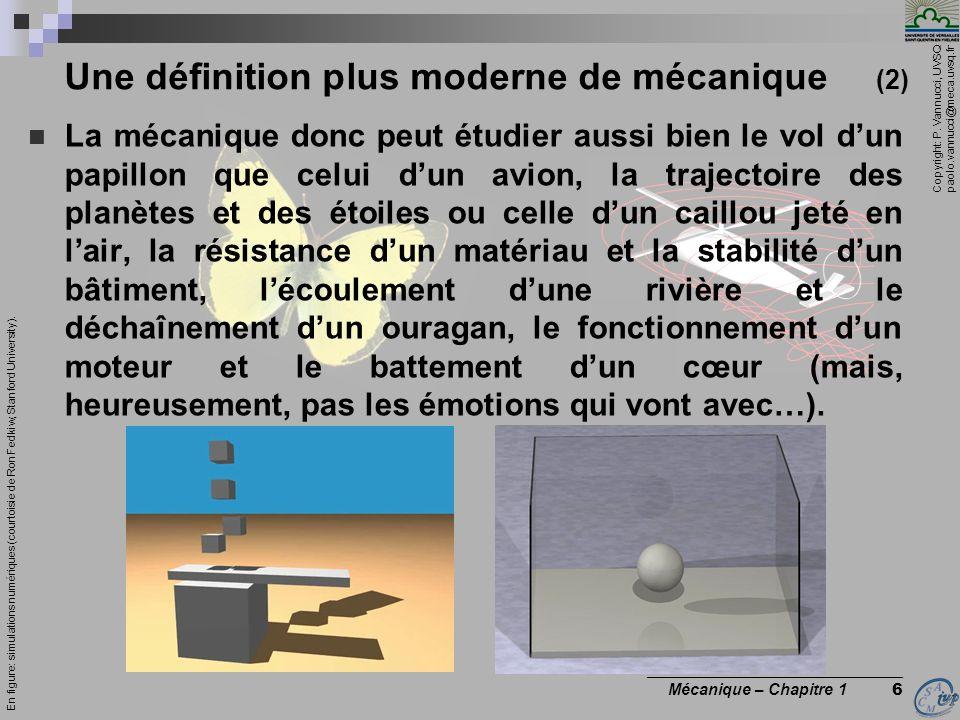 Une définition plus moderne de mécanique (2)
