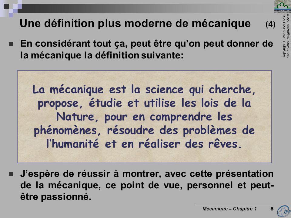 Une définition plus moderne de mécanique (4)