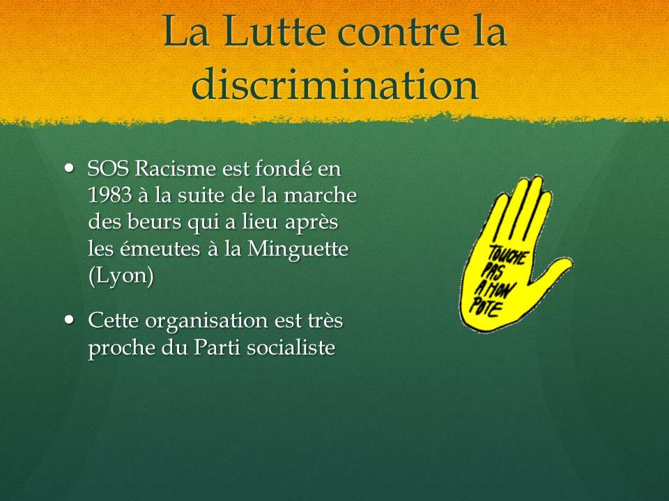 La Lutte contre la discrimination