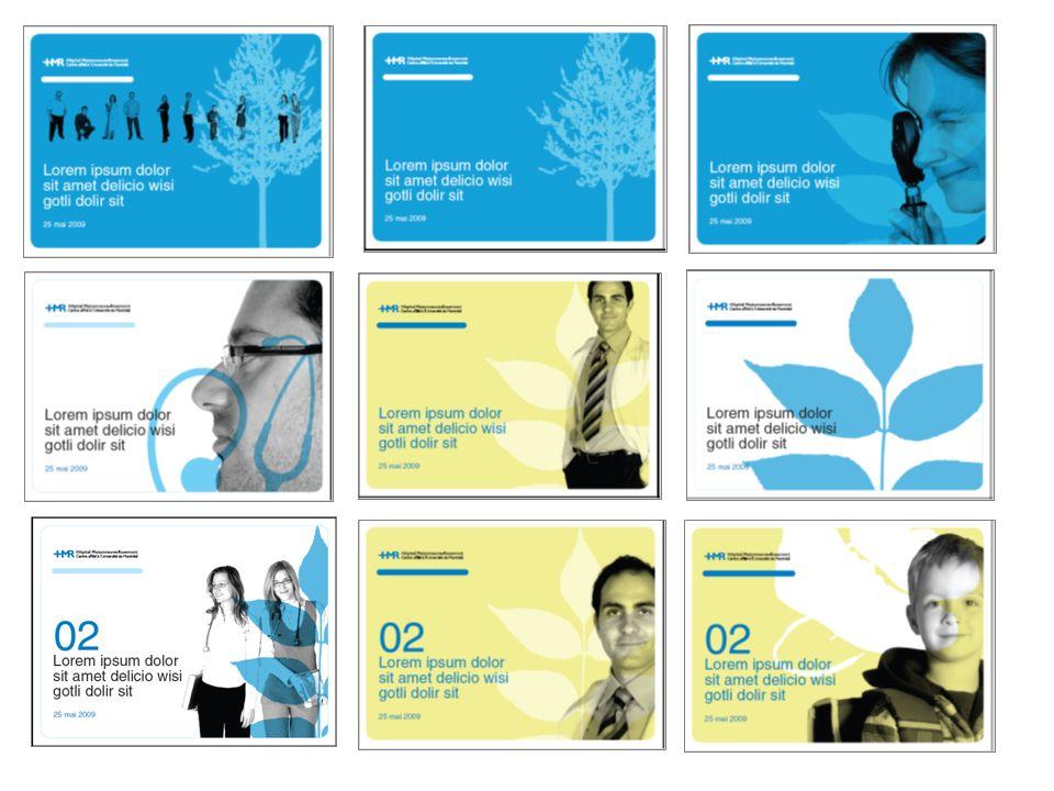 Des propositions de premières pages et de sections ont été développées selon différentes combinaisons de visuels et de couleurs.
