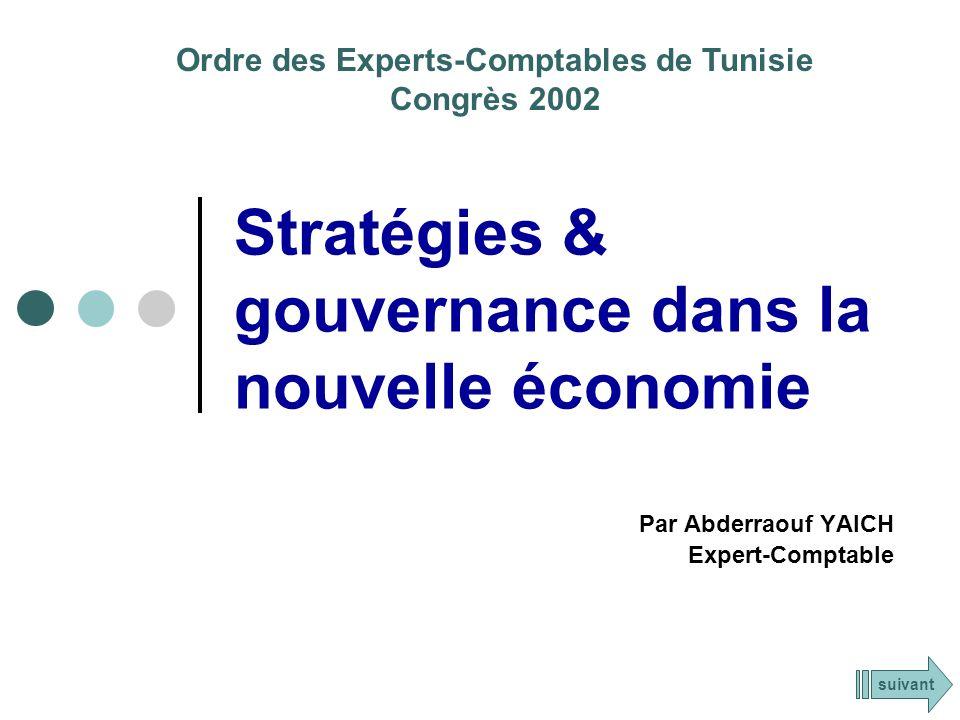 Stratégies & gouvernance dans la nouvelle économie