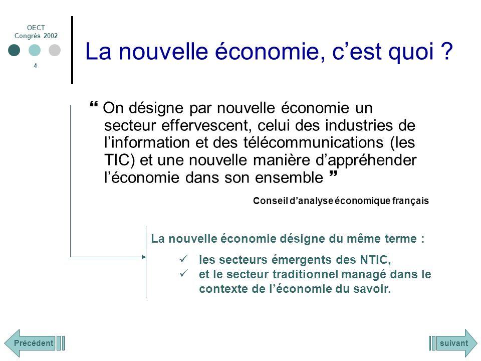 La nouvelle économie, c'est quoi