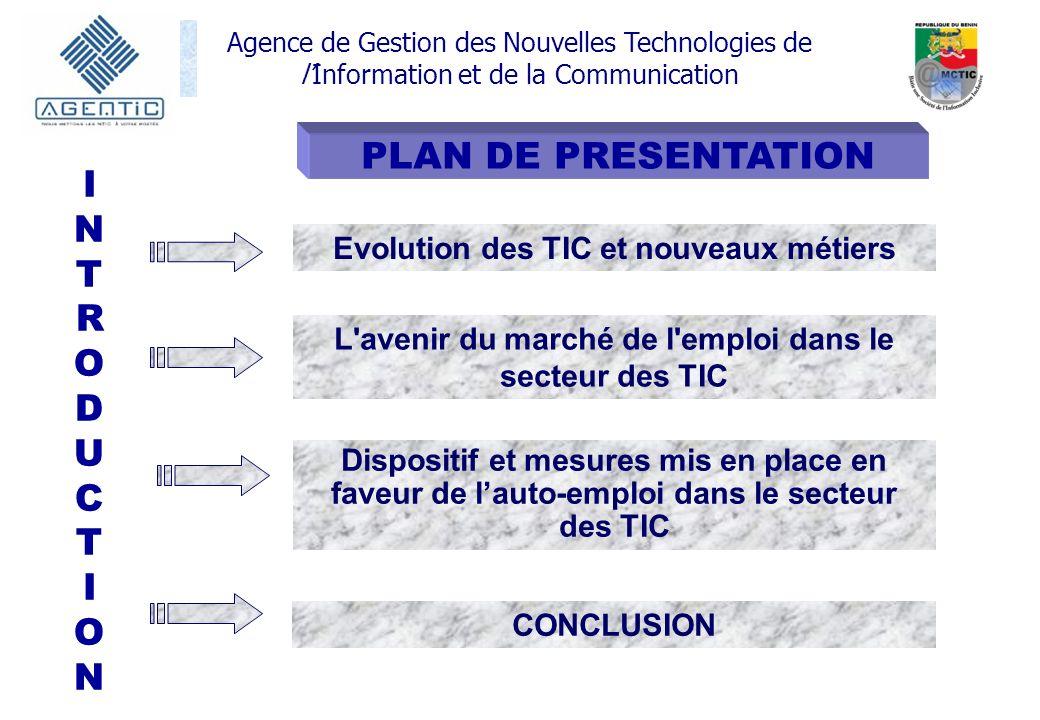 PLAN DE PRESENTATION INTRODUCT ION