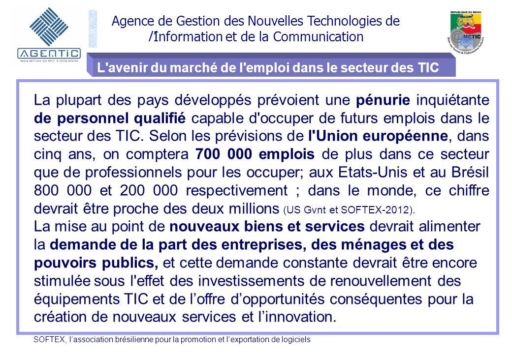 L avenir du marché de l emploi dans le secteur des TIC