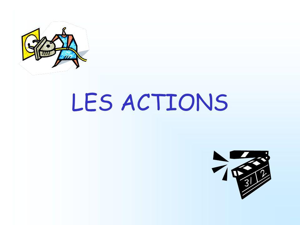LES ACTIONS