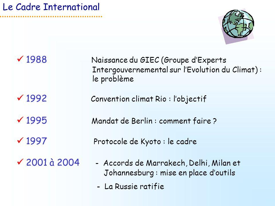 Le Cadre International