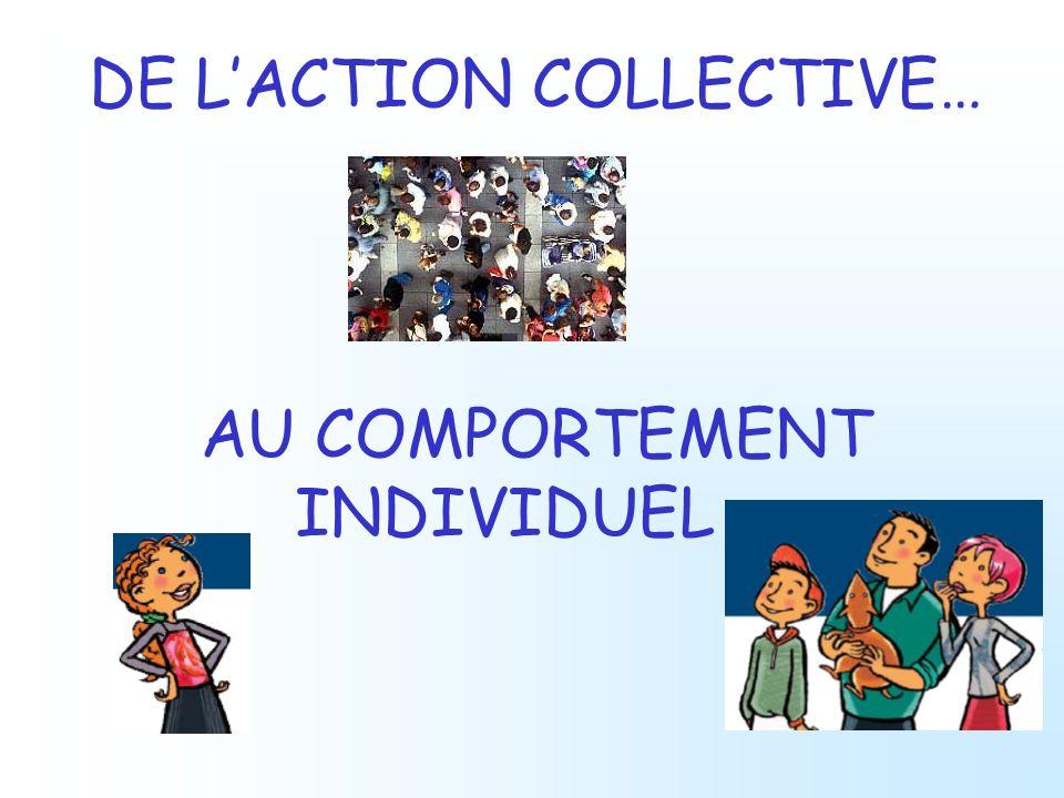 DE L'ACTION COLLECTIVE…