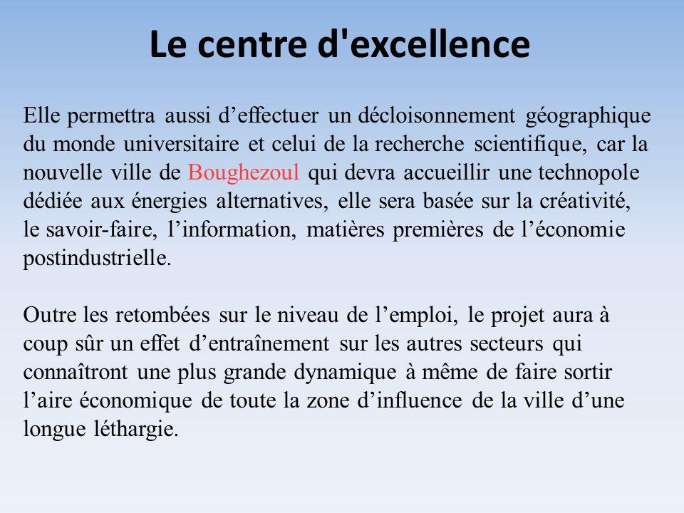 Le centre d excellence