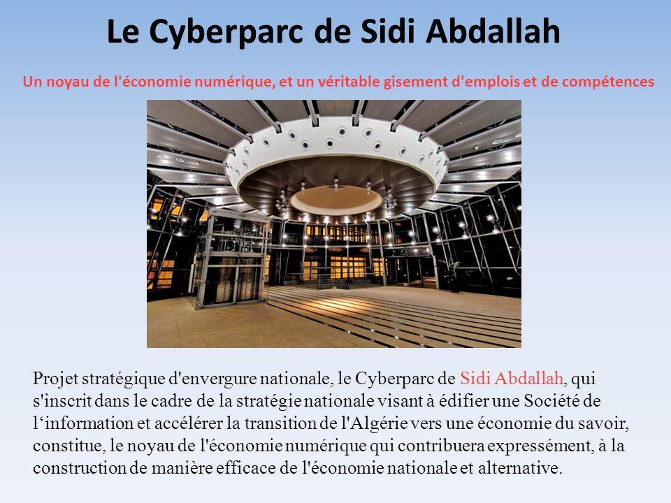 Le Cyberparc de Sidi Abdallah