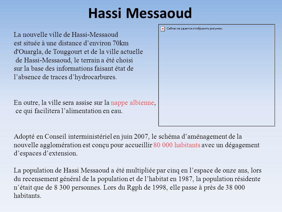 Hassi Messaoud La nouvelle ville de Hassi-Messaoud