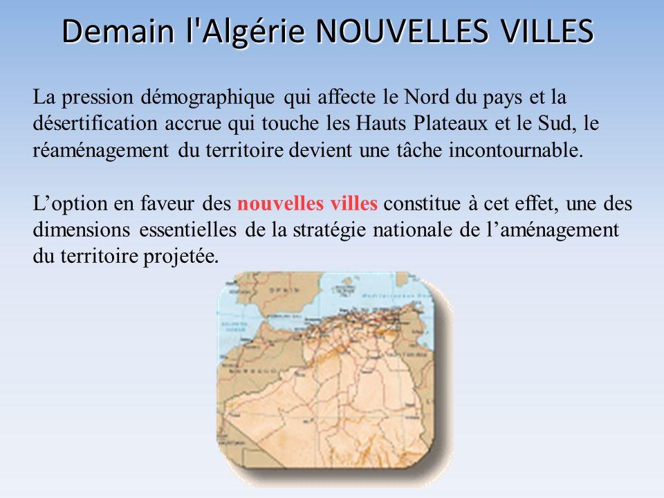 Demain l Algérie NOUVELLES VILLES