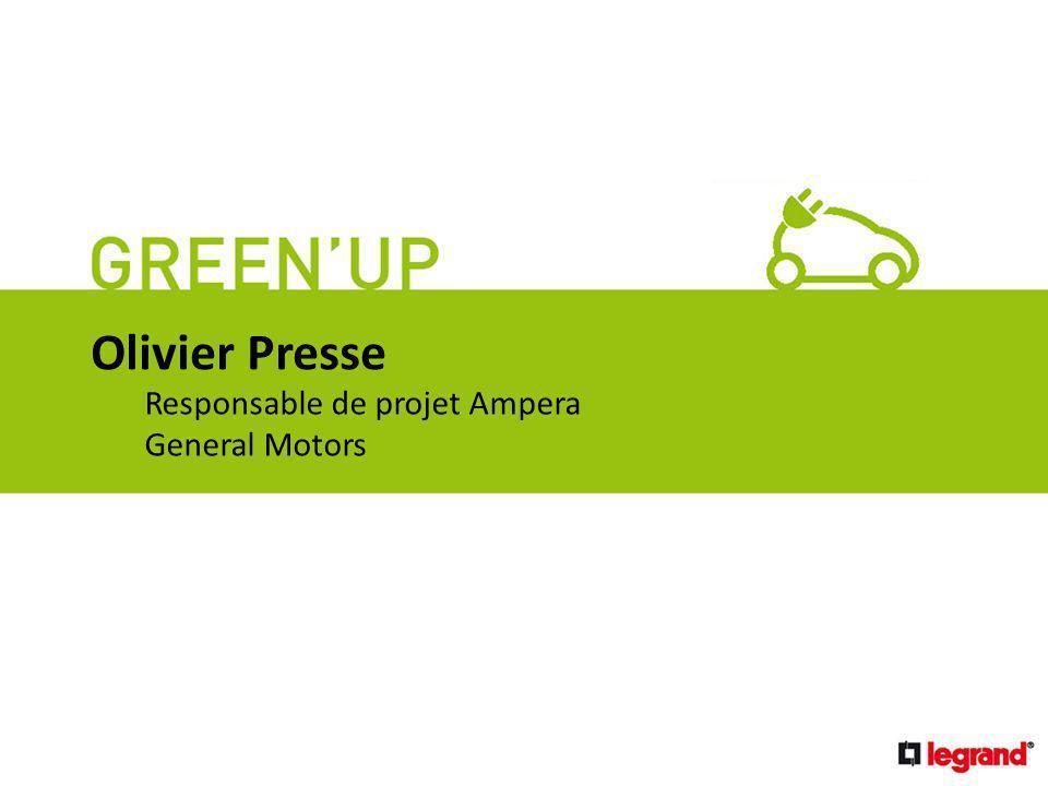 économies Olivier Presse (durables) Responsable de projet Ampera