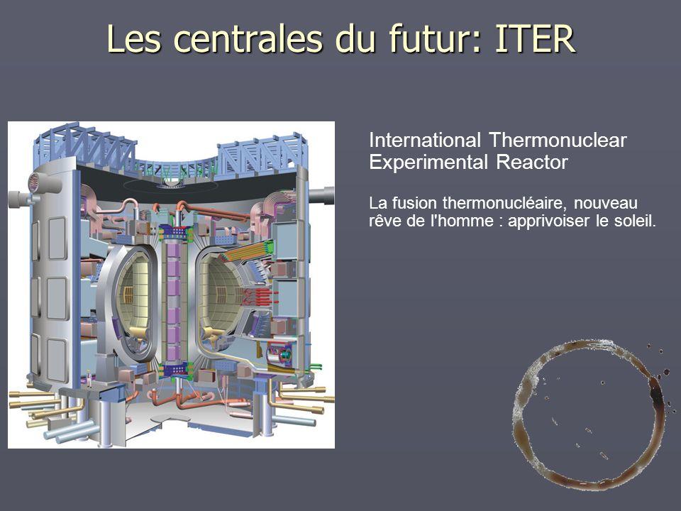Les centrales du futur: ITER