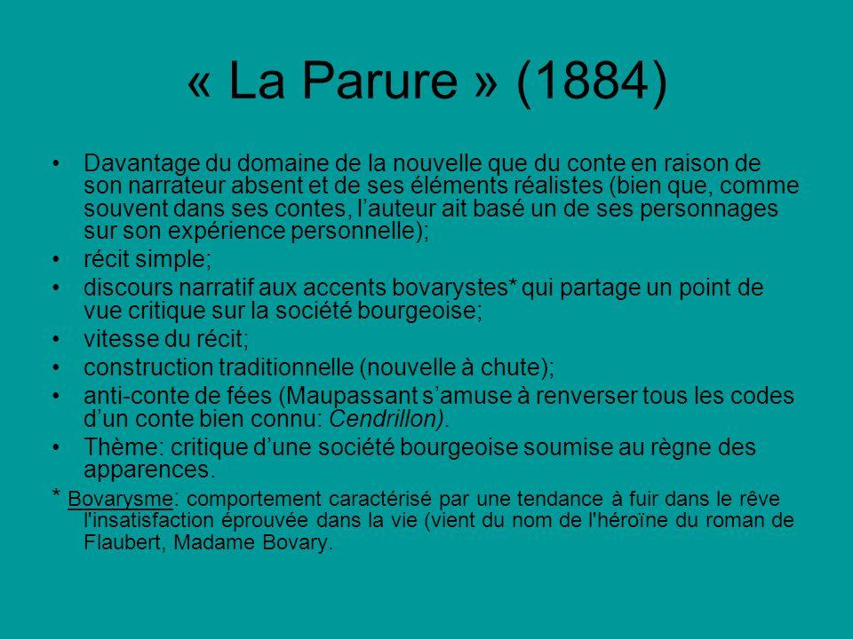 « La Parure » (1884)