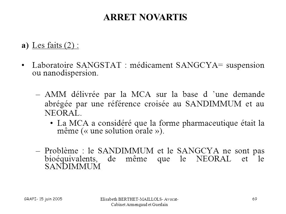 Elisabeth BERTHET-MAILLOLS- Avocat- Cabinet Armengaud et Guerlain