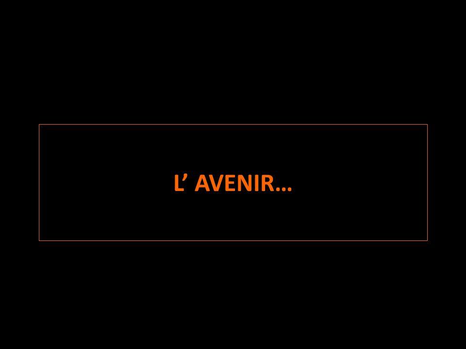 L' AVENIR…