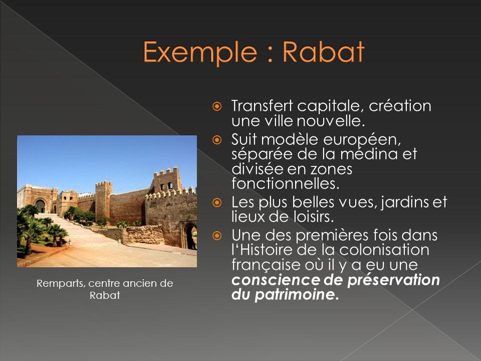 Remparts, centre ancien de Rabat