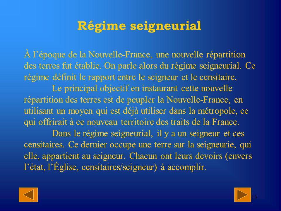 Régime seigneurial