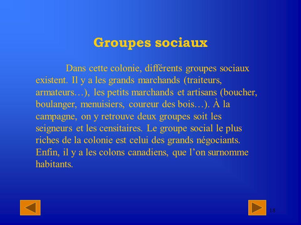 Groupes sociaux