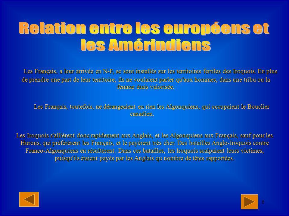Relation entre les européens et