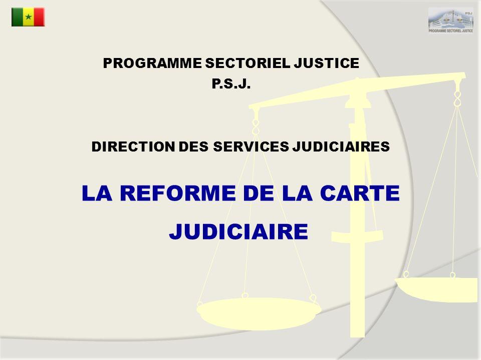 PROGRAMME SECTORIEL JUSTICE